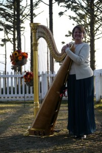 Full Size Symphonic, Gold Harp Works Outdoors in the right conditions