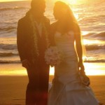 Wailea Beach Maui Sunset Wedding