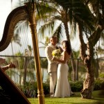 Harp Wedding Photo