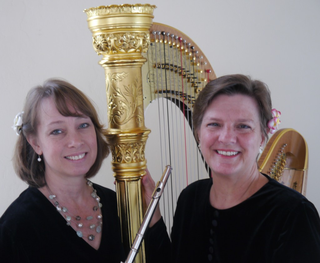 Heavenly Harp & Flute Duo available in Southern Oregon